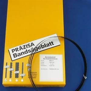 Bandsägeblätter Für Brennholz : bands gebl tter passend f r maschinen von praezisa ~ A.2002-acura-tl-radio.info Haus und Dekorationen