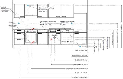 Elektroinstallation Kuche by Kurs Teil 4 Steigleitungen Und K 252 Chenplanung Elektricks