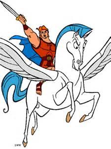 Disney Hercules Pegasus Clip Art