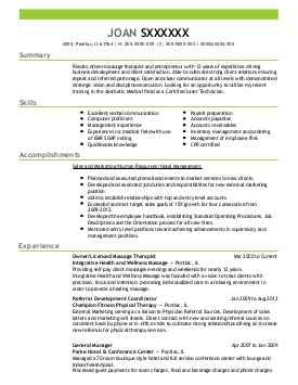 Therapist Resume Summary by 1 676 Therapy Resume Exles In Illinois Livecareer