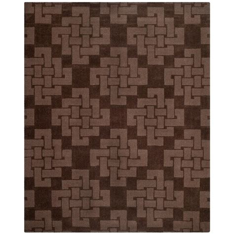 rugs for kitchen floor safavieh martha stewart chocolate truffle 9 ft x 12 ft 4950