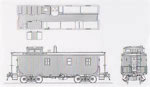 Train Caboose Plans Drawings