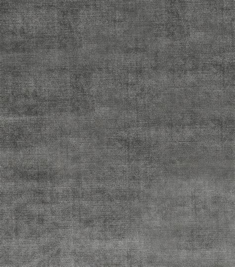 Grey Velvet Upholstery Fabric by Smith Solid Fabric Theater Velvet Graphite Joann
