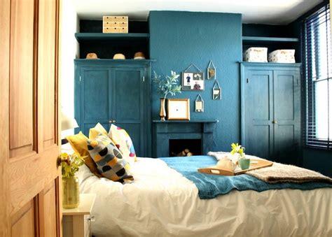 chambre bleu et jaune chambre bleu canard avec quelle couleur accords classe