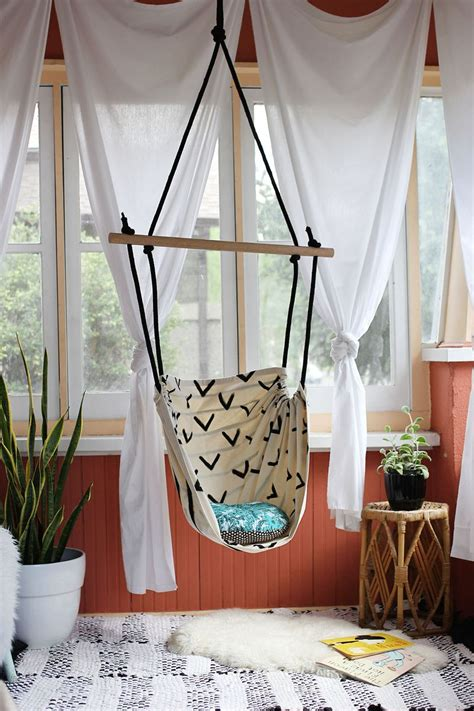Room Hammock Chair by Diy Tutorial Make This Hammock Chair For Your Porch Or