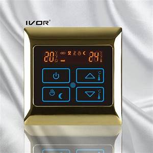 China Underfloor Heating Thermostat Touch Switch Metal