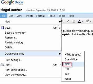 free download program save web pdf to google docs With google docs save as pdf