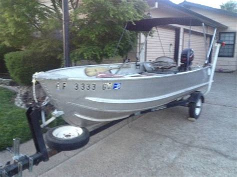 Montgomery Ward Sea King 14 Aluminum Boat by 14 Ft Sea King Aluminum Boat For Sale