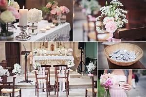 Deco Mariage Romantique : craquez pour ce mariage vintage dans les tons rose ancien et gris clair ~ Nature-et-papiers.com Idées de Décoration