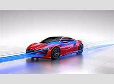 Learn How the 2017 Acura NSX's Aerodynamics Work