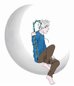 Jack Frost on the Dreamworks moon by Spottedfire23 on ...