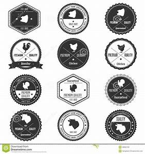Animal Farm Collection Vintage Badge Stock Vector - Image