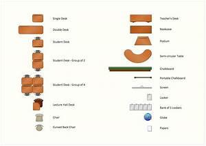 Interior Design  School Layout Design Element