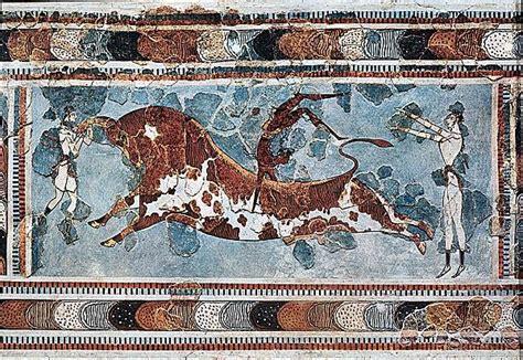cuisine de la rome antique encyclopédie larousse en ligne fresque du palais de cnossos