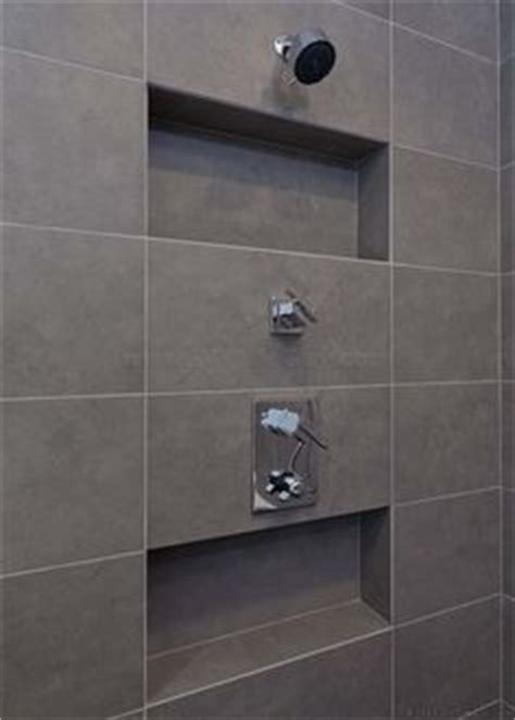 clear glass  shower niche bathroom ideas pinterest