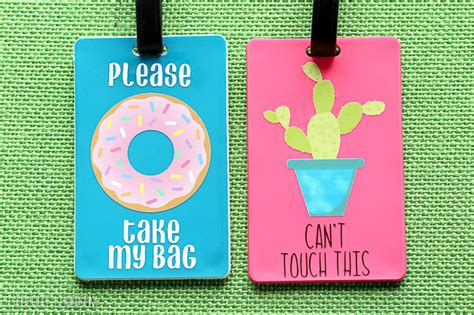 Diy Printable Luggage Tags Diy Luggage Tags That Talk Lydi Out Loud