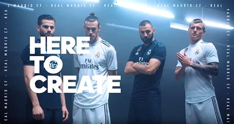 real madrid reveal  adidas kit    trim