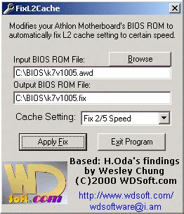 Andy S Bios Modification Tools by Wesley S Tool Box
