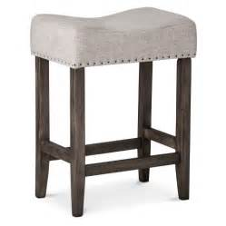 blue bar stools kitchen furniture rumford linen saddle 24 quot counter stool threshold target