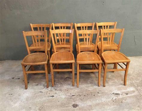 chaises bistrot occasion ensemble de 8 chaises bistrot style baumann