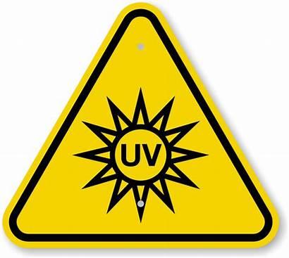 Uv Symbol Clipart Hazard Iso Warning Sign