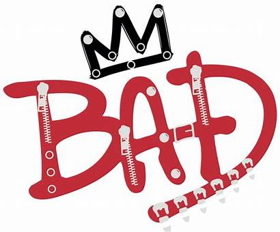 Jackson Bad Michael Transparent Clipart Logos Grande