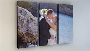 Dreiteilige Bilder Auf Leinwand : ihr foto als 3 teiliges leinwandbild 3 2 format ~ Orissabook.com Haus und Dekorationen