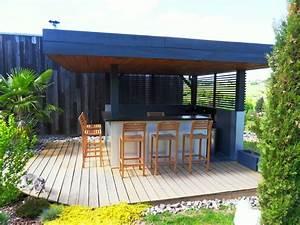 Bar Exterieur En Bois : bar ext rieur jardin fp59 jornalagora ~ Premium-room.com Idées de Décoration