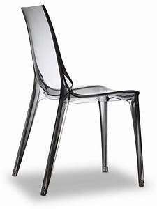 Vanity Chair 2652 Chaise Design En Polycarbonate