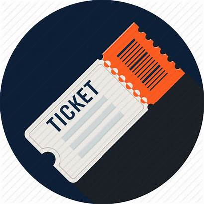 Ticket Icon Raffle Concert Cinema Entry Fare