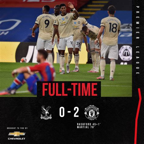 You have chosen to watch crystal palace vs manchester united , and the stream will start up to an hour before the game time. DOWNLOAD VIDEO: Crystal Palace vs Manchester United 0-2 ...