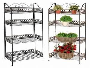 pflanzenregal pflanzregal fur balkon holz With französischer balkon mit gartenzaun bei amazon