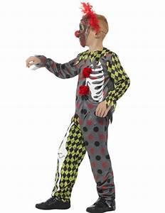 Déguisement Enfant Halloween : d guisement squelette clown fou enfant halloween deguise toi achat de d guisements enfants ~ Melissatoandfro.com Idées de Décoration