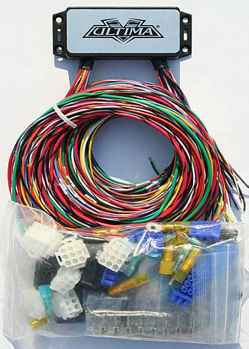 Ultima Plus Complete Wiring Harness Kit Harley Chopper