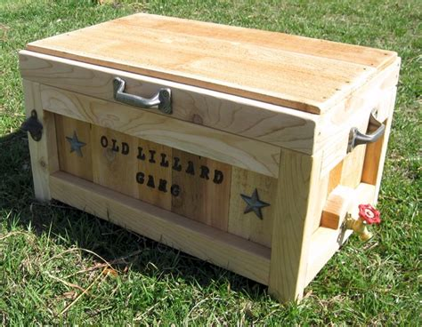 ideas  wooden ice chest  pinterest ice chest cooler diy cooler  ice cooler