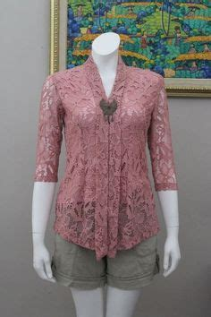 simple kebaya kebaya pinterest kebaya brokat