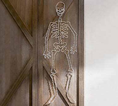 Pottery Barn Skeleton by Lit Skeleton Pottery Barn