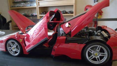 This is a 1/12 scale premium assembly kit model of the enzo ferrari. ENZO ferrari 1/12 TAMIYA - YouTube