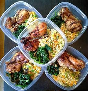 Meal Prep Einfrieren : meal prep chicken spinach and rice meal prep gallery pinterest herzhafte snacks rezepte ~ Somuchworld.com Haus und Dekorationen