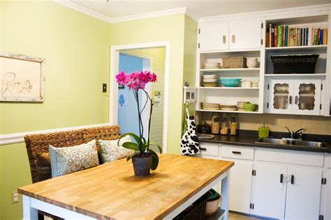 small kitchen paint ideas beautiful small kitchen designs with bright color