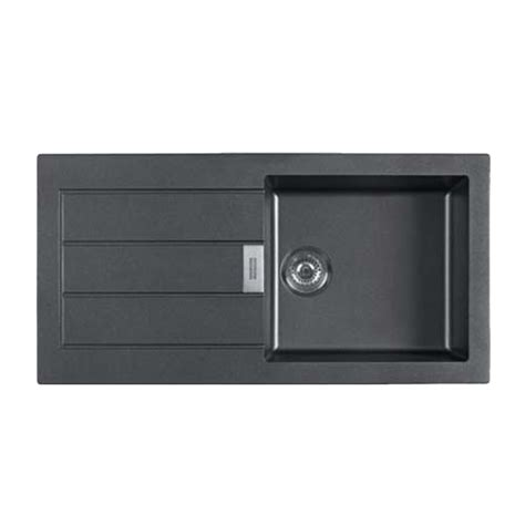 Black Kitchen Sink India by Buy Kitchen Sink Carbon Black Colour 1000x510mm