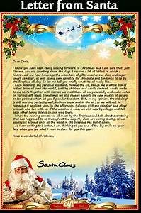 free personalized letters from santa claus sample letter With customized letter from santa claus
