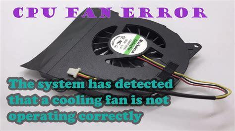 hp laptop fan not working how to fix system fan error on hp laptop tech video