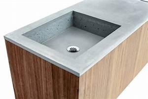 Waschtisch Aus Beton : caluzi waschtisch aus beton ~ Lizthompson.info Haus und Dekorationen