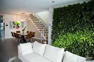 Decoration murale vegetale tableau vegetal salle de bain for Salle de bain design avec décoration végétale murale