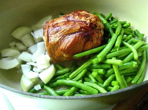 cottage ham cottage ham w green beans potatoes
