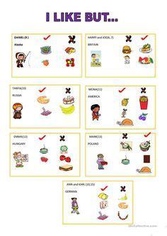 food menu esl efl lessons images efl lessons