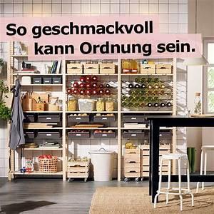 Regal Für Speisekammer : m bel einrichtungsideen f r dein zuhause wohnung pinterest ikea box und speisekammer ~ Markanthonyermac.com Haus und Dekorationen