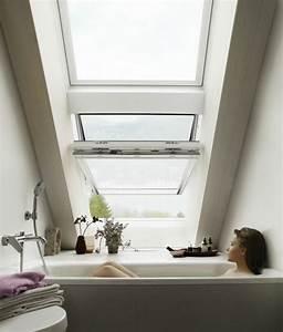 petite salle de bain sous pente de toit kirafes With salle de bain sous pente de toit