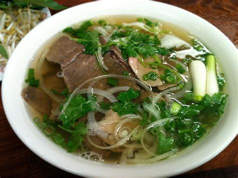 cuisine pho traditional beef pho recipe dishmaps